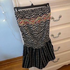 Tribal printed romper